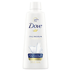 Dove Body Wash 3 Oz Carton