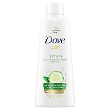 Dove Body Wash Cucumber Scent 3