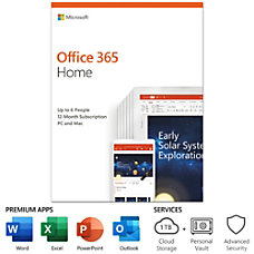 Office 365 Home For PCMac 6
