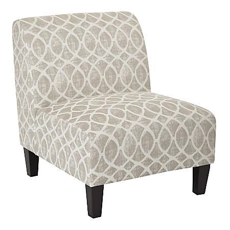 Ave Six Magnolia Accent Chair, Mist Geo Sand/Black