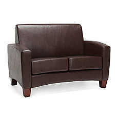 Essentials By OFM Traditional Armed Loveseat