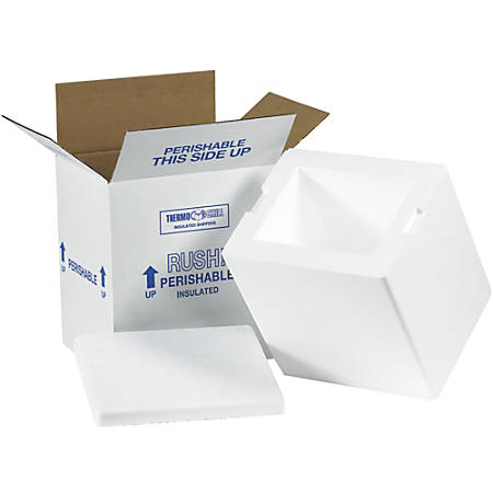 """Office Depot® Brand Insulated Corrugated Cartons, 8"""" x 6"""" x 9"""", Pack Of 8"""