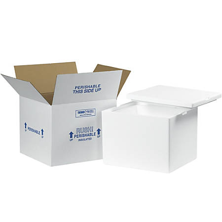 "Office Depot® Brand Insulated Corrugated Carton, 12"" x 10"" x 9"""