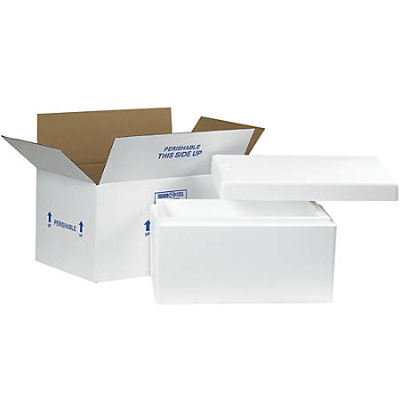 "Office Depot® Brand Insulated Corrugated Carton, 17"" x 10"" x 8 1/4"""