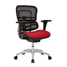 WorkPro 12000 Ergonomic MeshFabric Managerial Mid