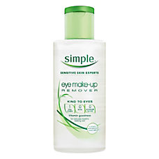 Simple Eye Makeup Remover 338 Oz