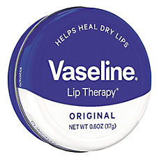 Vaseline Lip Therapy Original 06 Oz