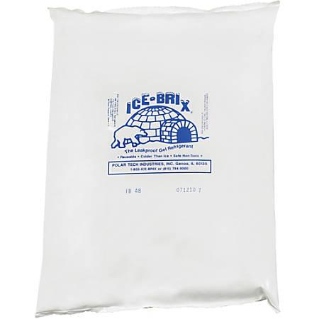 "Ice-Brix™ Cold Packs, 48 oz, 10 1/4"" x 8"" x 1 1/2"", Box Of 6"