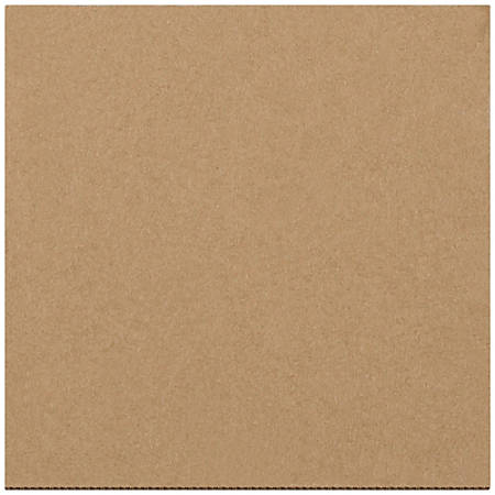 """Office Depot® Brand Corrugated Layer Pads, 5 7/8"""" x 5 7/8"""", Pack Of 100"""