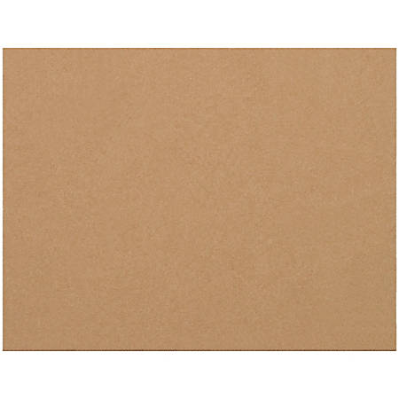 """Office Depot® Brand Corrugated Layer Pads, 8 3/8"""" x 10 7/8"""", Pack Of 100"""
