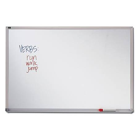 "Quartet® Melamine Dry-Erase Board, 24"" x 36"", Aluminum Frame"