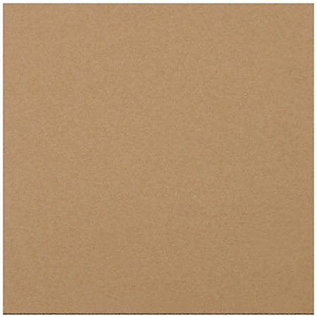 "Office Depot® Brand Corrugated Layer Pads, 11 7/8"" x 11 7/8"", Pack Of 100"