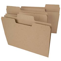 Smead Tree Free SuperTab File Folders