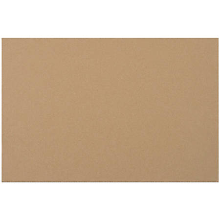 "Office Depot® Brand Corrugated Layer Pads, 11 7/8"" x 17 7/8"", Pack Of 100"