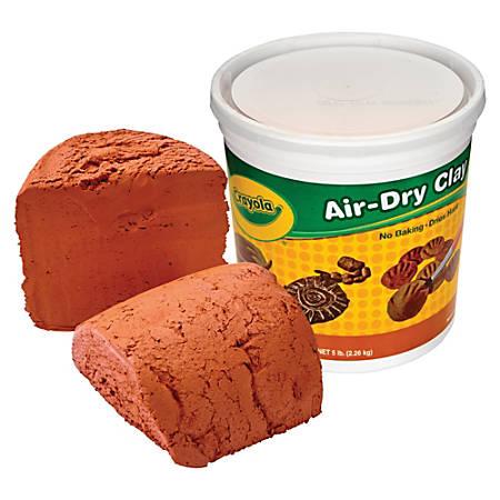 Crayola Air-Dry Clay - 1 Each - Terra Cotta