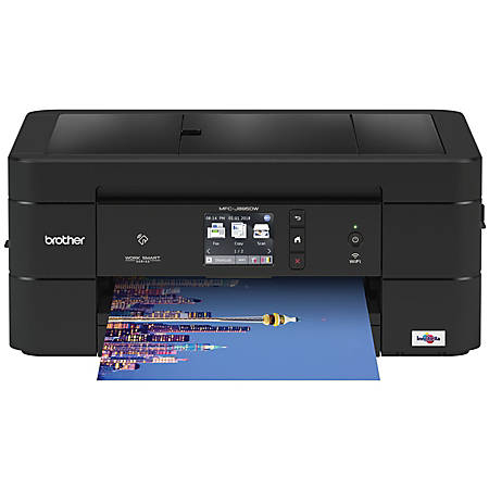 Brother International Wireless Color Inkjet All-In-One Printer, Copier, Scanner, Fax, MFC-J895DW