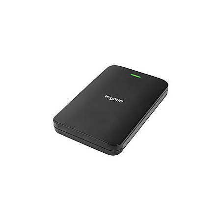 VogDuo™ 500GB Portable External Hard Drive, 8MB Cache, HD252, Black