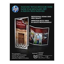 HP Glossy Double Sided BrochureFlyer Paper