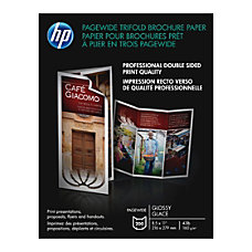 HP BrochureFlyer Paper Letter 8 12