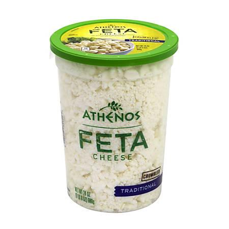 Athenos Feta Cheese, 24 Oz