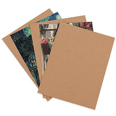 """Office Depot® Brand Chipboard Pads, Kraft, 11"""" x 17"""", Pack Of 480"""
