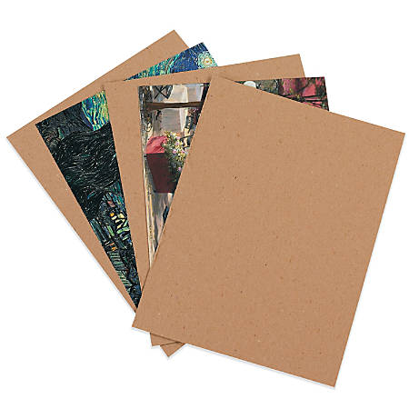 "Office Depot® Brand Chipboard Pads, Kraft, 11"" x 17"", Pack Of 480"