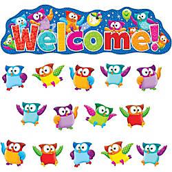 Trend Owl Stars Welcom Bulletin Board