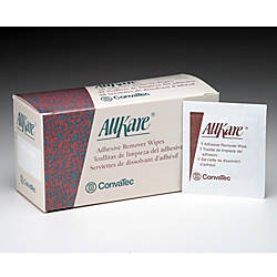 AllKare Adhesive Remover Wipes Box Of