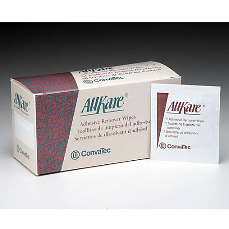 AllKare® Adhesive Remover Wipes, Box Of 50