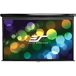 Elite Screens Manual Series M86UWX Projection