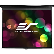 Elite Screens M80UWH Manual Pull Down