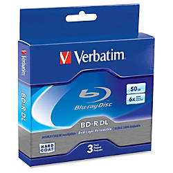 Verbatim 3 Pack 6x BR R