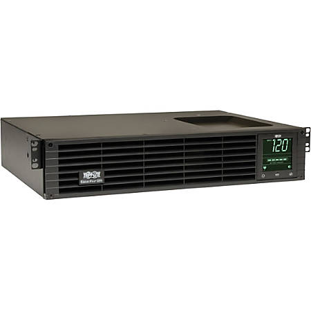 Tripp Lite UPS Smart 1500VA 1350W Rackmount AVR 120V Preinstalled WEBCARDLX Pure Sine Wave USB DB9 Extended Run 2URM - 1500 VA/1350 W - 120 V AC - 4.90 Minute Stand-by Time - 2U Rack-mountable - 8 x NEMA 5-15R