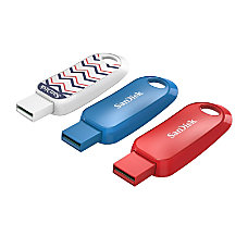 SanDisk Cruzer Snap USB Flash Drives