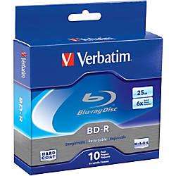 Verbatim BD R 25GB 6X with