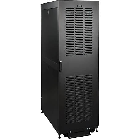 "Tripp Lite 42U Rack Enclosure Server Cabinet Industrial NEMA 12 Harsh Environments - 19"" 42U Wide - Black - Steel - 3000 lb x Dynamic/Rolling Weight Capacity - 3000 lb x Static/Stationary Weight Capacity"