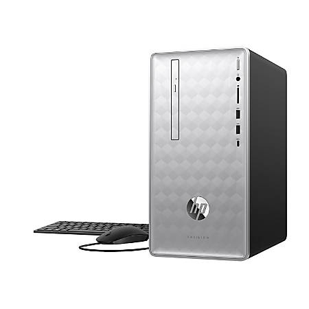 HP Pavilion 590-p0056 Desktop PC, 8th Gen Intel® Core™ i5, 8GB Memory, 1TB Hard Drive, Windows® 10 Home, GeForce GTX 1050