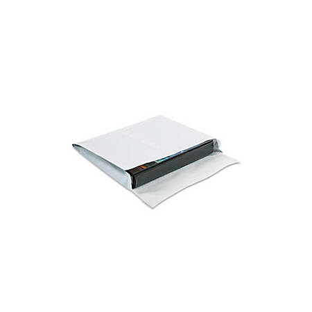"SHIP-LITE® Envelopes, Expandable, 10"" x 15"" x 2"", End Opening, White, Pack Of 100"