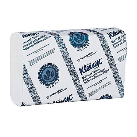 "9.3""X9.4"" KLEENEX MULTIFOLD TOWELS(150/PKG)"