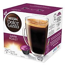 Nescafe Dolce Gusto Dark Roast Coffee