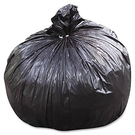 "30% Recycled Trash Can Liners, Medium Duty, 40"" x 48"", 40-45 Gallon , Carton Of 100 (AbilityOne 8105-01-386-2329)"