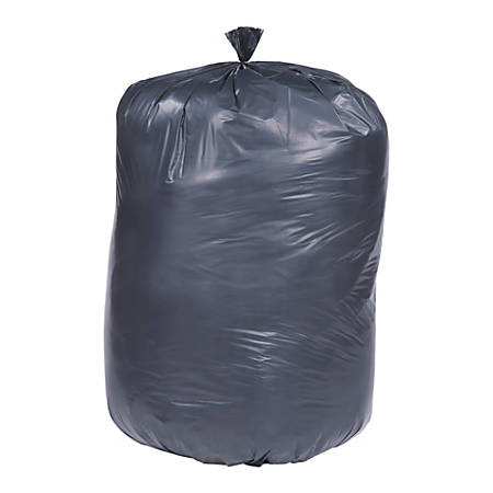 "30% Recycled Trash Can Liners, Heavy Duty, 36"" x 58"", 60 Gallon , Carton Of 100 (AbilityOne 8105-01-386-2410)"