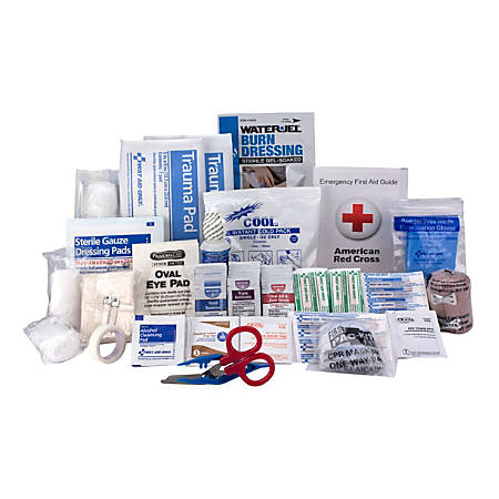 First Aid Only 90639/90564/90565 50-Person First Aid Kit Refill, 183 Pieces