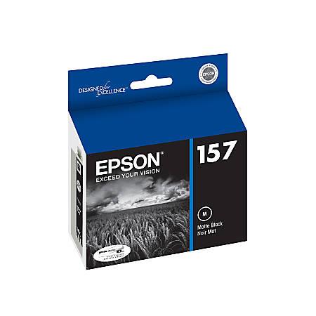 Epson® 157, (T157820) Matte Black Ink Cartridge