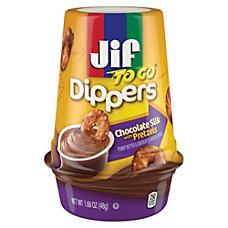 Jif To Go Dippers PretzelsChocolate Silk