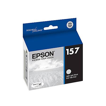 Epson® 157, (T157920) Light Light Black Ink Cartridge