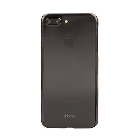 iHome® Ombre Slim Shield 360 Degree Protection Case For Apple® iPhone® 7/7 Plus, Apple Black