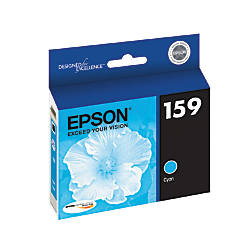 Epson 159 T159220 Cyan Ink Cartridge