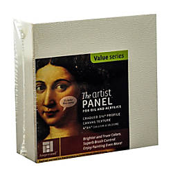 Ampersand Artist Panel Canvas Texture Cradled