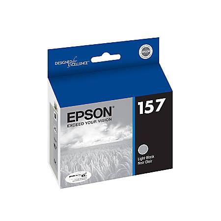 Epson® 157, (T157720) Light Black Ink Cartridge